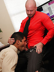 Gay hairy man cums in sleep and men with big dicks being sucked at My Gay Boss