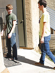 Moving pic of cute gay boys and male gay anal pump at Bang Me Sugar Daddy