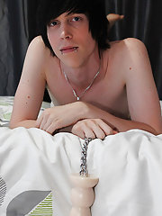 Sexy young emo lad Tyler Bolt isn't glad with just stroking his knob when he's enjoying some alone time playboy amature sex at Boy Crush!