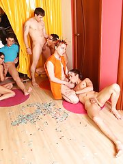 Anal group orgy gay and gay leather bikers in yahoo groups at Crazy Party Boys