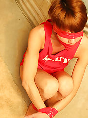 Kyler is bound, blindfolded and gagged with bondage tape as Alexsander drags him into the basement for a round of rough and aggressive sex free hardco