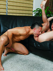 When Paulie leans over and licks Brodys knob clean, it is simply perfect nude gay muscle hardcore male