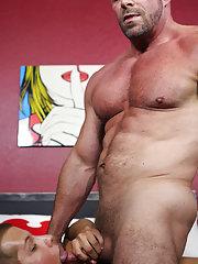 Men fucking hardcore pussy and mature man having hardcore sex at Bang Me Sugar Daddy