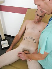Free videos men caught with straight guys and double dick medical
