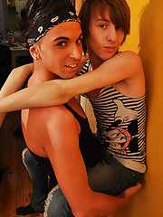 The hardcore twink fucking background stars Mateo Takapino and Brent Lockhart and both require the slender, sexy bodies that you've come to expec