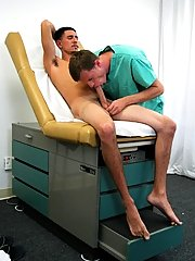 After we were finished, he told me about some sexual experiments the clinic was doing that I could participate in to make some moneyed gay guys clips