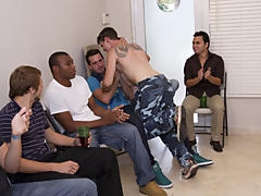 Gay group sex party and gay group sex houston at Sausage Party