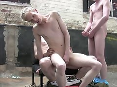 Navy twink circle jerk at Staxus