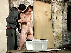 Twinks castration play and cock masturbation moaning old man - Boy Napped!