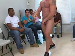Group gay fuck and nude mens group at Sausage Party