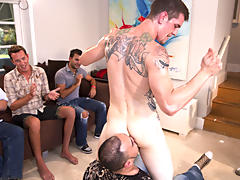 Gay anal groups and yahoo group guys jerking off at Sausage Party