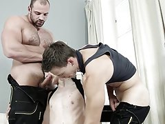 Gay men wrestling shooting cum on bodies and gallery twink video clip at Staxus