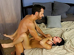 Once he's hard as a rock, Bryan lays into Kyler's ass, slamming his aperture until the chap is wailing for more free gay sex hardcore movies