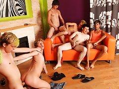 Gay group action and gay youth group tacoma at Crazy Party Boys