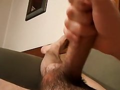 Uncut white hair grandpa cock and butch men cuming on each other - Jizz Addiction!