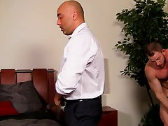 Gay interracial cum tgp and how to self fuck with short dick at My Gay Boss