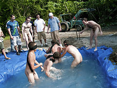 The winners of course were excempt from hell week but the losers had to pay the ultimate price old gay men fucking group