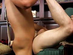 Shave anal hole videos and porn men in short clip at My Gay Boss