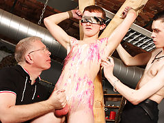 Twinks and old men hand job and men milking men in there underwear - Boy Napped!