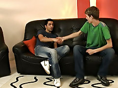 Interracial doctors office gay and long haired twink interracial