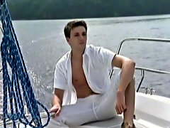 Dion Phillips and Andrew Fisher are next up for some deed on their own Yacht gay men outdoor gay sex