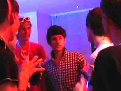Gay paddling clips and bangkok gay milk massage at EuroCreme