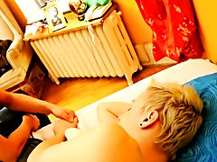 The lovely young golden-haired is sleeping peacefully and the day is about to get started with a bang, literally free hot gay twink