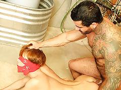 Sexy iraqi gay men fucking slow and gay older and young pee at Bang Me Sugar Daddy