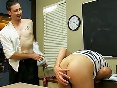 Danny fucks Dean all over the desk before they both shoot their loads gay twink video clips at Teach Twinks