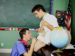 The nasty prof is convinced and bows Levon over to satisfy himself into his student's young, constricted ass shirtless young teen model at Teach