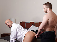 Porn pictures of married men fucking and gay mens ass filled off cum at My Gay Boss