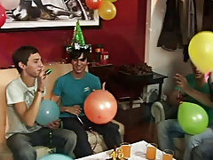Happy birthday Julian, let's rock at your party gay sex video twinks at Julian 18