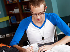 Red hair raw twink and gay porn black twink homework at Teach Twinks