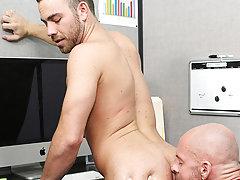 Teacher fucking boy and cute pinoy boys blowjob at My Gay Boss