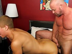 Gay male mutual cock and ball play videos and old fat guy dick pics at Bang Me Sugar Daddy