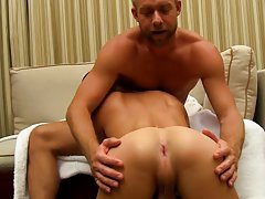 Young 1 gay boys rimming and men cum during exam at I'm Your Boy Toy