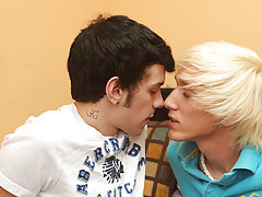 The 2 kiss, undress, and engulf each other's 10-Pounder before the fucking begins gay xxx twinks at Boy Crush!