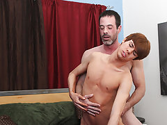 Blond hairy hung boy and white young naked boys couple fuck at I'm Your Boy Toy