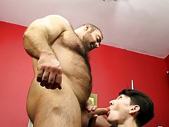 Naked men strip games sauna and white twink with black hairy armpits at Bang Me Sugar Daddy