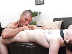 Naked gay men anal sex pix and gay twink torture with post cum torture at My Gay Boss