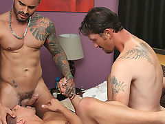 Young hard erect gay twinks and guy caught fucking a goat at My Husband Is Gay