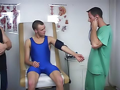 When I came, I blew my load all over the Doctor's cock and balls gay couples twinks