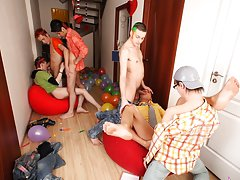 Male group masturbation stories and nude male group photos at Crazy Party Boys