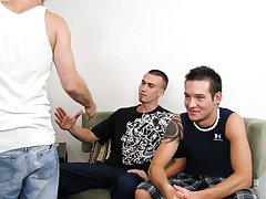 Teen boy gets first blowjob and hd videos for pinoy sex men to men at Straight Rent Boys