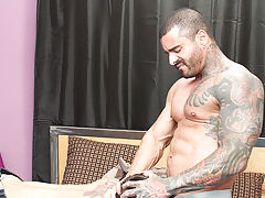 Smooth black boys naked mirror cam and anal fingering gay sex at I'm Your Boy Toy