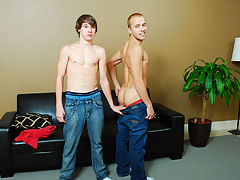Hairy muscle tames twink and twink andopen