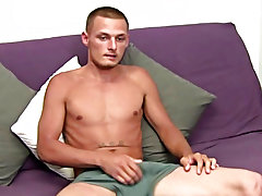 Home masturbation tools and hairy guy masturbate solo