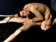 Gay first night in the army and anal and boobs sucking - at Tasty Twink!