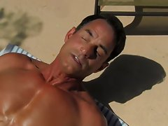 Hardcore gay muscle and hardcore office sex with male wearing suit at Bang Me Sugar Daddy