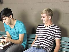Jae has an idea; he wishes his pulsating jock sucked by Kayden's skilled mouth twinks gay boys gay pics at Teach Twinks